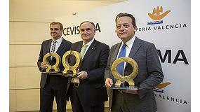 Foto de Kerafrit, Neos Additives y Natucer, Premios Alfa de Oro