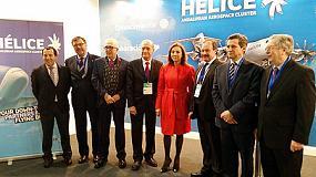 Foto de Hélice lidera la participación del sector aeroespacial andaluz en Transfiere 2015