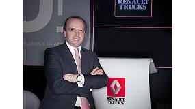 Foto de Oscar Martirena, nuevo director comercial de Renault Trucks