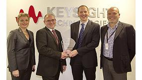 Foto de Keysight Technologies premia a RS Components por el compromiso y lealtad con sus clientes