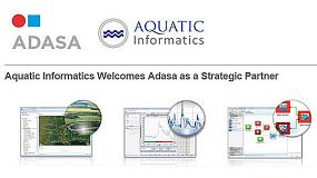 Foto de Aquatic Informatics da la bienvenida a Adasa como partner estrat�gico