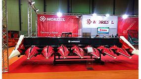 Foto de Moresil presenta sus nuevos cabezales de ma�z en Agroexpo 2015
