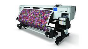 Foto de Cartelería, preimpresión, textil o etiquetado industrial, en el stand de Epson en Graphispag 2015