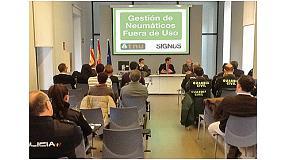 Foto de La Generalitat Valenciana, TNU y Signus trabajan contra los importadores que no contribuyen a la gestión de los NFU