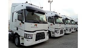 Foto de Transportes Las Maravillas renueva su confianza en las prestaciones, el ahorro y la ecología de Renault Trucks T