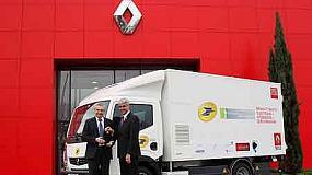 Foto de La Poste y Renault Trucks ponen en circulación el primer camión con pila de combustible de hidrógeno en Europa
