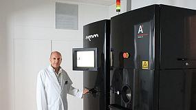 Foto de Procesado de nuevos materiales met�licos mediante tecnolog�as de fabricaci�n aditiva por haz de electrones (EBM)