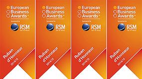 Foto de Ausa gana el Ruban d'Honneur de los The European Business Awards 2014/15
