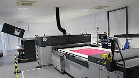 Foto de Ability instala una impresora industrial HP Scitex FB7600