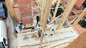 Picture of House Habitat inicia la construccion del edificio con estructura de madera mas alto de Barcelona