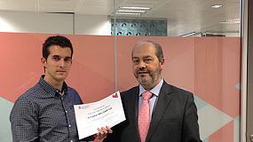 Picture of �lvaro Melgar, ganador del concurso Impulso al Talento de Aqualogy