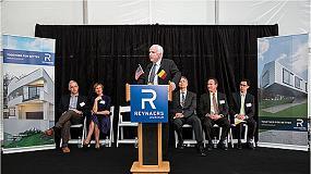 Foto de Gran inauguración de Reynaers Aluminium en EE UU