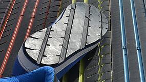 Picture of Suelas de zapatos a partir de ruedas recicladas