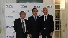 Foto de Epson Ibérica celebra su 25 aniversario con 200 profesionales del ámbito empresarial y TIC