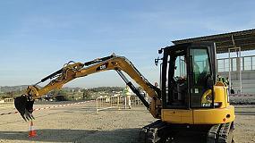 Foto de Caterpillar presenta sus nuevas miniexcavadoras hidráulicas de la Serie E2