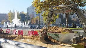 Foto de Saint Gobain PAM España participa en la renovación de la red en el Paseo de la Castellana y en Chamartín