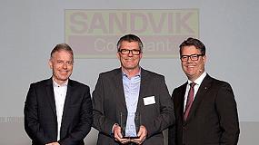 Foto de Sandvik Coromant gana el 'Premio a la Excelencia' de Volvo Cars