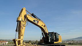 Foto de La nueva excavadora Cat 336F L/LN proporciona una productividad y eficiencia del combustible superiores