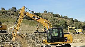 Foto de Caterpillar ofrece la máxima rentabilidad con su nueva excavadora Cat 313F L GC