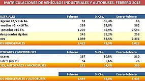 Foto de En los dos primeros meses del año, el mercado de vehículos industriales crece un 16,5%