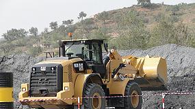 Foto de Las nuevas palas de ruedas Cat 950M y 962M aumentan la eficiencia del combustible