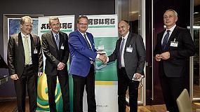 Foto de ARaymond gana el premio de eficiencia energética 2015 de Arburg