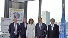 Fotografia de Schneider Electric, reconocida por las Naciones Unidas como l�der en la igualdad de g�nero