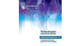 Foto de Burdinola edita nuevo catálogo técnico de vitrinas de gases