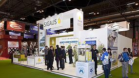 Foto de Los talleres respaldaron en Motortec la labor de Sigaus en la gestión del aceite usado