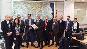 Fotografia de Cimalsa recibe una delegaci�n del gobierno de Marruecos