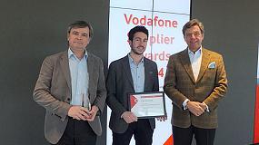 Foto de Vodafone premia a HMY como mejor proveedor del a�o 2014
