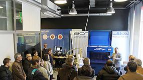 Foto de Grupo Sicnova da a conocer su nueva impresora 3D industrial en una jornada del IMH