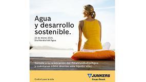 Fotografia de Junkers con el D�a Mundial del Agua