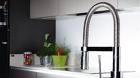 """Foto de La nueva grifería de cocina Chef Carbon de Clever, """"Lujo Inusual"""""""
