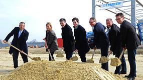 Foto de Lemken pone la primera piedra de su nueva planta de pulverizadores