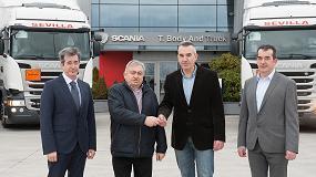 Foto de Scania entrega 15 unidades a Transportes Sevilla