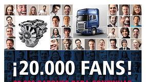 Foto de Scania Hispania es la marca del sector con m�s seguidores en Facebook