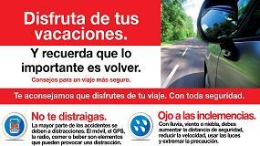 Picture of Asetra colabora con la Comunidad de Madrid en una campa�a de seguridad vial centrada en prevenir accidentes en vacaciones