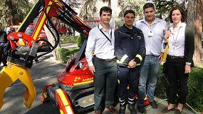 Picture of Los bomberos de Madrid presentan su nuevo robot Brokk, para demolici�n y desescombro