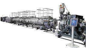 Foto de Sistemas para la extrusión de tubos y láminas de termoconformado para todas las aplicaciones