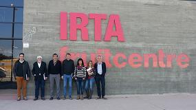 Foto de El eurodiputado Javier López visita el Irta Fruitcentre