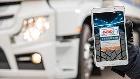 Picture of Goodyear presenta la App eJob, una innovadora aplicaci�n para el servicio de neum�ticos de cami�n