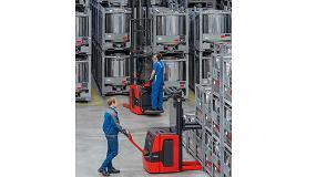 Foto de Flexibilidad, potencia y comodidad para trabajar en el almacén