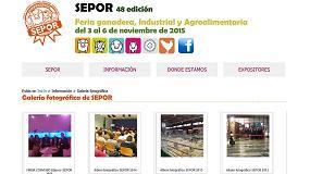 Picture of La p�gina web de Sepor introduce cerca de 300 fotos y un v�deo de la edici�n 2014