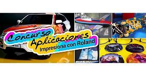 Foto de Abierta la convocatoria para el Concurso de Aplicaciones Impresiona con Roland