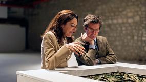 Picture of Escultura y agua se unen en una exposici�n de Cristina Iglesias en la bodega CVNE