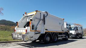 Foto de L'Arca del Maresme adquiere a Geesinknorba España dos vehículos híbridos de la Serie N2 con LI-ON Power