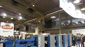 Foto de Rotatek lleva su maquinaria pesada a Graphispag 2015