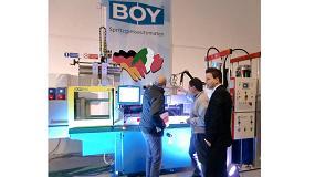 Foto de Cinco inyectoras serán protagonistas en el stand de Boy en feria Plast Milán 2015