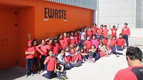 Picture of Escolares de La Palma visitan una planta de reciclaje en Tenerife gracias al Proyecto Aula